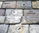 Flagstones damaged